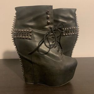 Jeffrey Campbell studded boot size 9.5